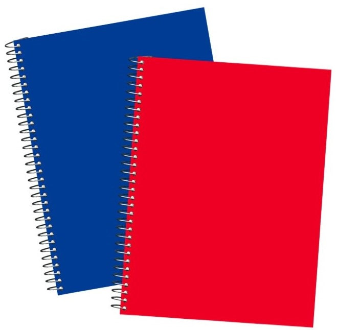 1-Subject Spiral Notebooks